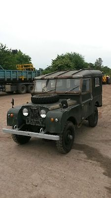 Landrover Series 1, Land rover series one, original engine, 1956 86'' & hard top