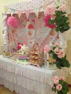 Décor at a Tea Party #tea #partydecor