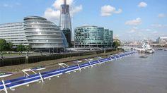 Dezeen 2 Oktober 2014: Thames deckway by River Cycleway Consortium