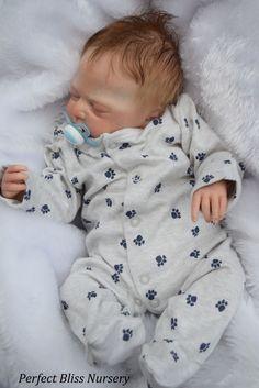 *PBN* REBORN BABY BOY 0417 SCULPT LEAH BY SANDRA WHITE | eBay