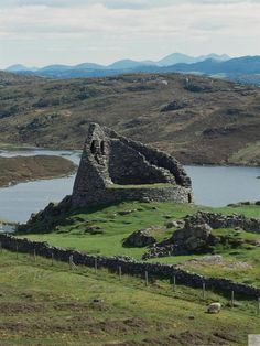 Dun Carloway, Western Isles. One of the best preserved brochs in Scotland, perfect for exploring and adventuring. #Scotland #History