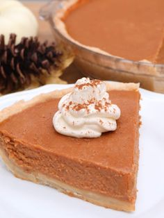 Easy Creamy Pumpkin Pie