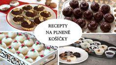 Košíčky z lineckého cesta či čokolády môžete naplniť ľubovoľným krémom, dať na spodok trošku pikantného džemu, do plnky primiešať rum, obsypať orechami alebo poliať čokoládou. Môžete ich ozdobiť mandľou alebo posypať vianočným zdobením. Dessert Recipes, Desserts, Cereal, Cooking Recipes, Pudding, Breakfast, Food, Anna, Nice