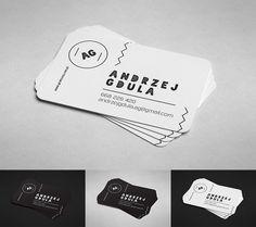 Mockup -  Round corner business card