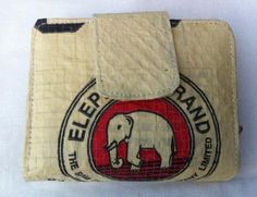 #Fair Trade#Handmade# Recycled# Eco-friendly Cement Elephant lady Purse, made by disabled home based workers. www.craftworkscambodia.com