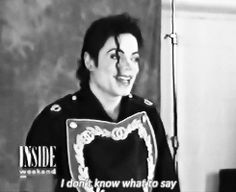 "Me: Michael, Will you Marry me?  MJ:...  Me:Just say ""YES""  MJ: Soo... Yes..."