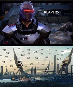 Overwatch x Mass Effect