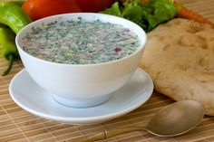 Холодные летние супы  Окрошка на кефире и газированной воде.