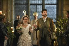 Reign, season 4, episode 4,Playing with fire. Princess Claude and Luc.
