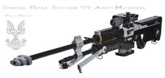This Full Scale Halo Sniper Rifle Made out of LEGO