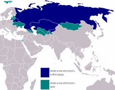Russian is the predominant language in Odessa and other parts of south and east Ukraine.