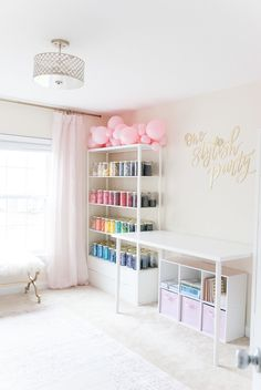 Craft room storage.