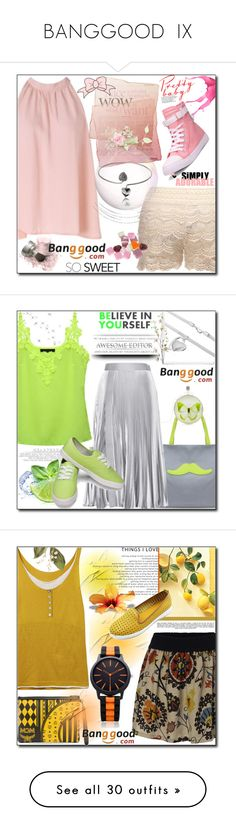 """""""BANGGOOD  IX"""" by esma178 ❤ liked on Polyvore featuring Christopher Kane, Pier 1 Imports, MCM, Whiteley, Paul & Joe, Billabong, Ekphero, Universal Lighting and Decor, G by Guess and vintage"""