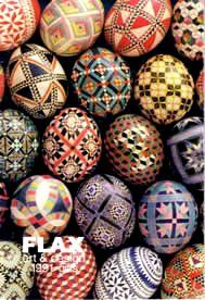 Pysanky Eggs...The best way to be crafty during Easter