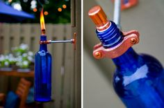 what to do with empty bottles of wine