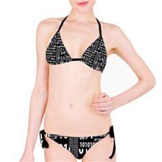 Beautiful Binary Bikini by StuffOrSomething