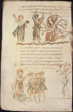 Prudentius, <U>Psychomachia yy Medieval, Irish Warrior, Carolingian, Small Art, Dark Ages, Barbarian, 9 And 10, Gaelic Irish, Vintage World Maps