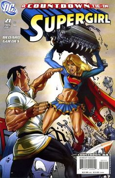 Cover for Supergirl (DC, November 2007) #21