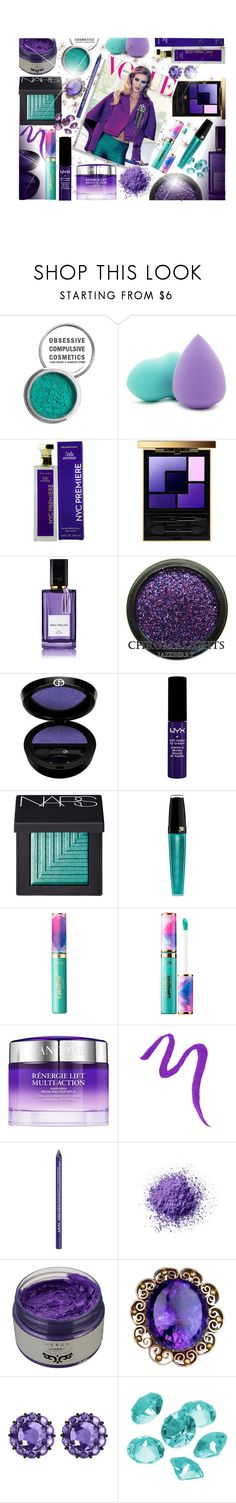 """~En vogue!~"" by li-lilou ❤ liked on Polyvore featuring beauty, Obsessive Compulsive Cosmetics, Forever 21, Elizabeth Arden, Yves Saint Laurent, Whiteley, Diana Vreeland, Giorgio Armani, NYX and NARS Cosmetics"