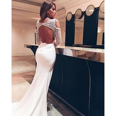 Eleta from the Pallas Couture La Verne Spring Collection (Back View) / Modern Pallas Couture, Elegant Dresses, Formal Dresses, Strictly Weddings, Geometric Wedding, Bridal Fashion Week, Yes To The Dress, Dress Collection, Spring Collection