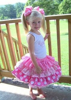 Girls Clothing :: Baby Girl (0-24 months) :: Baby Girl Outfits :: Pinkalicious Rhinestones Skirt Set - Childrens Boutique & Upscale Baby Boutique   Boutique Kids Clothing, Kids Room Decor, Hip Baby Gear