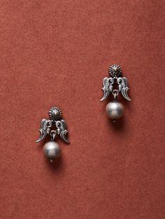 Buy Designer Silver Earrings for Women Online Antique Earrings, Antique Jewelry, Silver Earrings, Bird Earrings, Antique Silver, Silver Jewellery Indian, Silver Jewelry, Metal Jewelry, Diy Jewelry