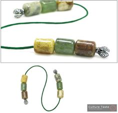 Items similar to Begleri Beads - Multicolor Jade & Silver - Barrel on Etsy Beaded Jewelry, Unique Jewelry, Jewellery, Design Tutorials, Fun Things, Barrel, Jade, Greek, Handmade Gifts