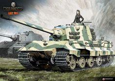 "Tank Illustrations ""Artist's Choice"" Part9: E 75 / sdkfz | Illustration Column | World of Tanks"