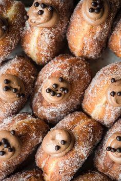 Chocolate Custard Cream Doughnuts | Now, Forager | Teresa Floyd