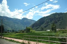 Landscape III in Sacred Valley, taken from the car.