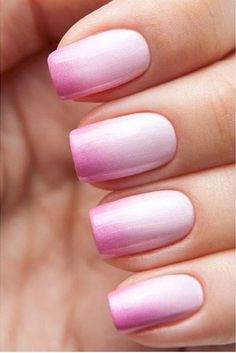 11. Create a subtle ombre buy using the lightest shades of your choice color.