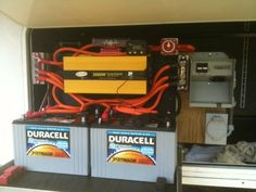 Mods and Upgrades by Lonney | RV Happy Hour Some terrific mods including battery charging, air compressor, fridge fans, built in generator, etc http://rvhappyhour.com/forums/topic/mods-and-upgrades-by-lonney/ #RV #Upgrades #Mods