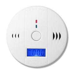 Independientes LCD CO Monóxido de Carbono Envenenamiento Sensor Monitor de Sensor De Gas CO Detector de Alarma