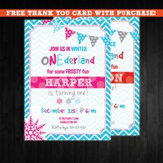 winter+onederland+Birthday+Invitation+first+by+AbbyReeseDesign,+$15.00