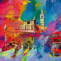 London Print by Robert Holzach at Art.co.uk