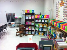 Classroom libraries are a huge component to any classroom. Students need to be exposed to a variety of prints. When libraries are organized, students can recognize the differences between the different types of print.