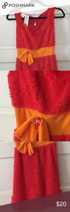 NWT Twenty8Twelve New /& Genuine Ladies Orange Cotton Dress Size Large UK 12//14