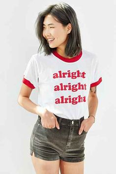 Camp Collection X UO Alright Ringer Tee - Urban Outfitters #campcollection #urbanoutfitters