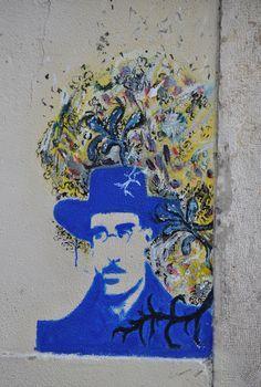 Lisbon Street Art - This is Lisbon as told through a paint brush and a spray can - by for Best Street Art, Amazing Street Art, Public Art, Urban Art, Graffiti, Art Gallery, Sculpture, Artwork, Adora