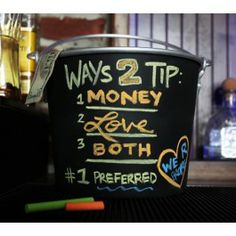 Chalkboard Tip Jar Bar Quotes, Wine Quotes, Coffee Humor, Coffee Quotes, Funny Coffee, Funny Tip Jars, Funny Bar Signs, Bartender Funny, Alcohol Humor