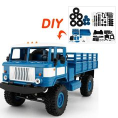 1 16 RC Cars DIY Military Car 3d Assembled Truck DIY Model Cars Assembly Scale Car. Click visit to buy #RemoteControl #Car #rccarsdiy
