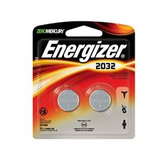 Energizer® Lithium Coin Battery, 2 piece