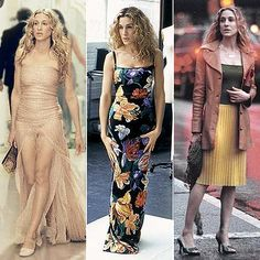 Carrie Bradshaw Style on Sex and the City   POPSUGAR Fashion