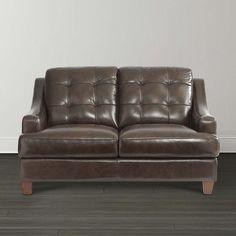 CARLS OFFICE Loveseat by Bassett Furniture