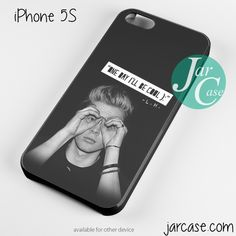 luke one day i'll be cool Phone case for iPhone 4/4s/5/5c/5s/6/6 plus