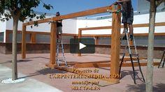 Montaje pérgolas y porches carpintería para restaurantes PARTE DUODÉCIMA MONTAJES M3