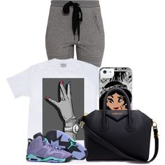 At school by purplecookiedimples on Polyvore featuring 3.1 Phillip Lim, NIKE and Givenchy
