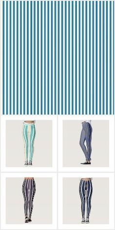 Fitness Clothing, Striped Leggings, Stripes, Shoes, Design, Zapatos, Shoes Outlet, Fitness Wear