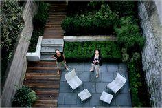 Rethinking a Brownstone's Backyard - The New York Times > Home & Garden > Slide Show > Slide 1 of 11