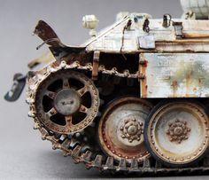 Panther Ausf.D #tank #modelmaking #diorama